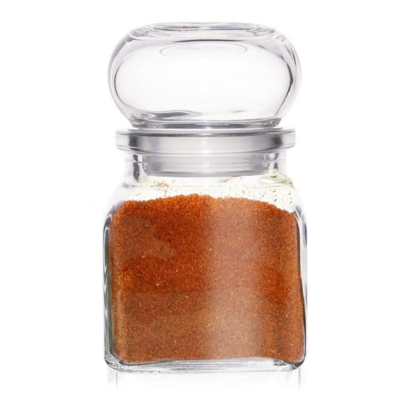Pojemnik szklany na przyprawy do przypraw kuchenny 120 ml