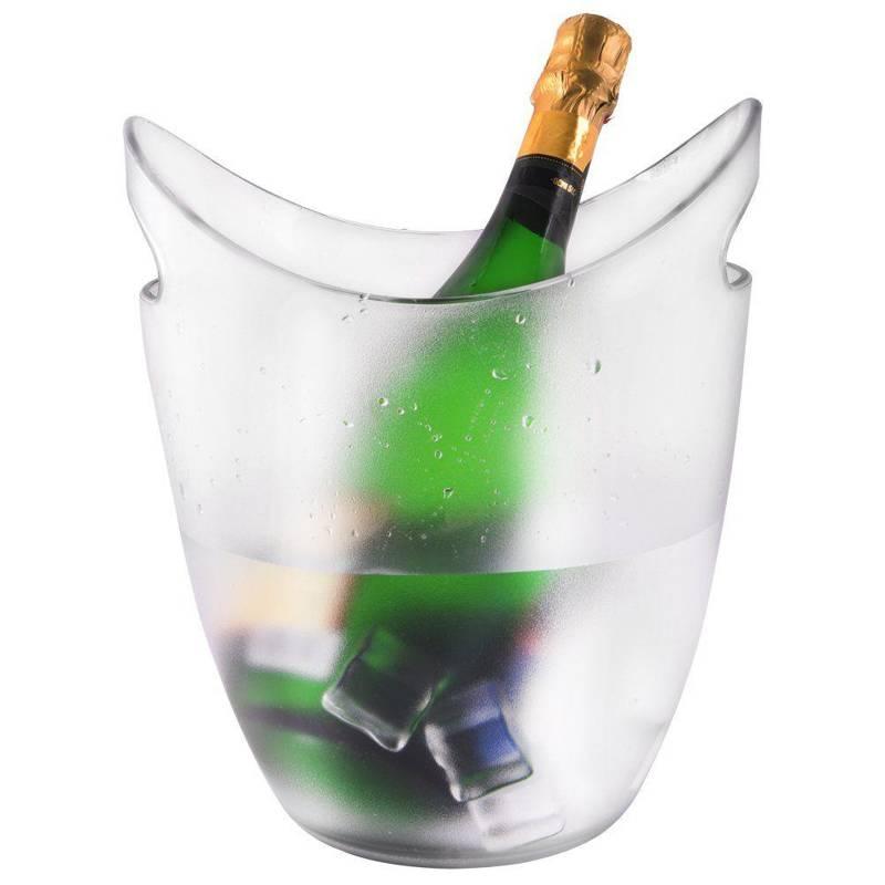 Pojemnik wiaderko do lodu lód na szampana